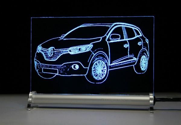 Renault Kadjar LED Leuchtschild