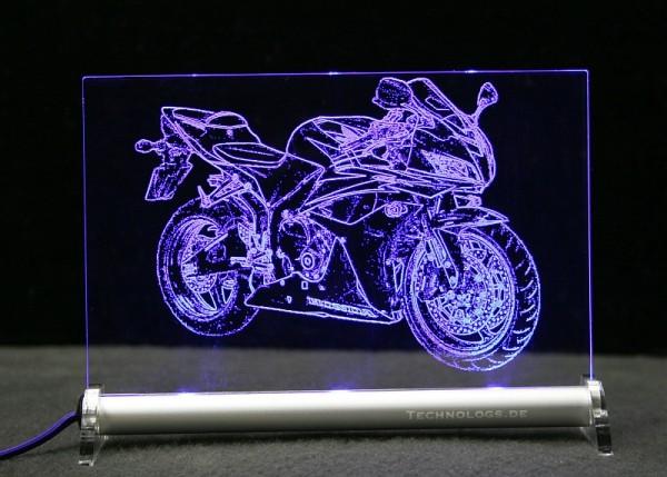 Honda CBR 600 RR LED Leuchtschild