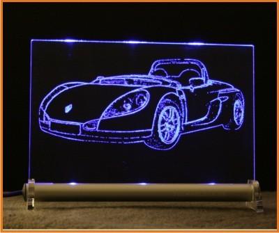 Renault Sport Spider LED Leuchtschild