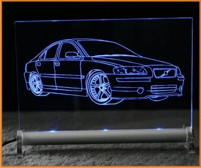 Volvo S60 LED Leuchtschild