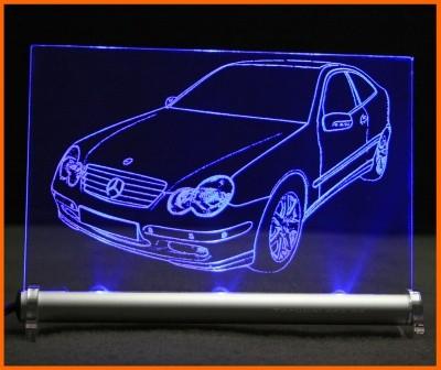 Mercedes C Sportcoupe CL203 Facelift LED Leuchtschild