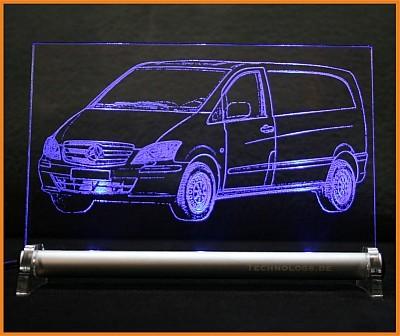Mercedes Vito LED Leuchtschild
