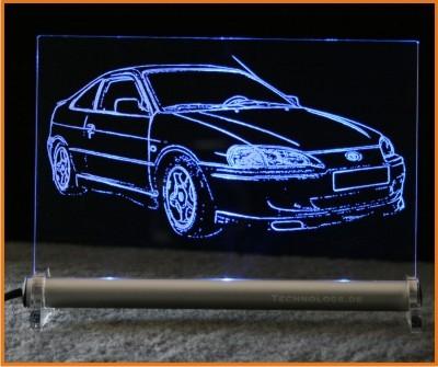Toyota Paseo LED Leuchtschild