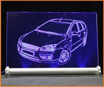 Ford Focus Turnier LED Leuchtschild