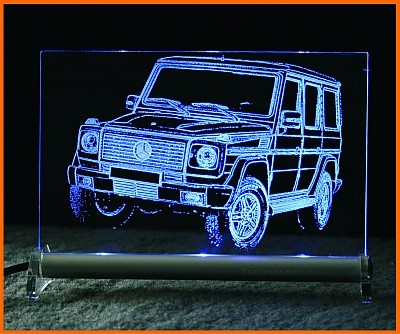 Mercedes G LED Leuchtschild