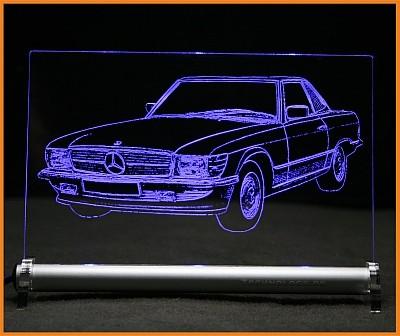 Mercedes SL C107 LED Leuchtschild
