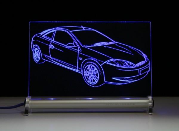 Ford Cougar LED Leuchtschild