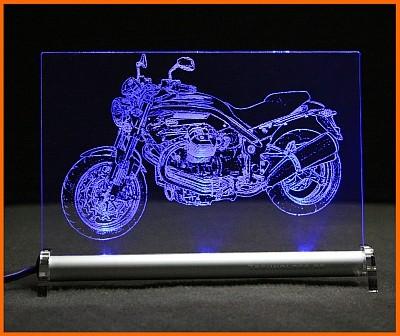 Moto Guzzi Grisso 1200 8v LED Leuchtschild