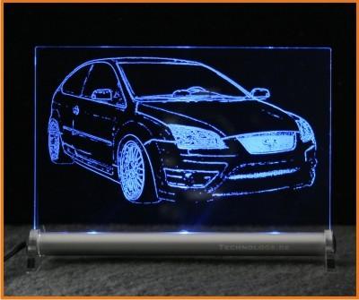 Ford Focus ST LED Leuchtschild