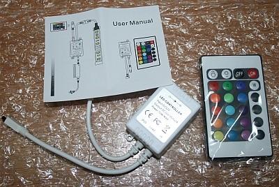 RGB Leiste und Farbwechsel Controller