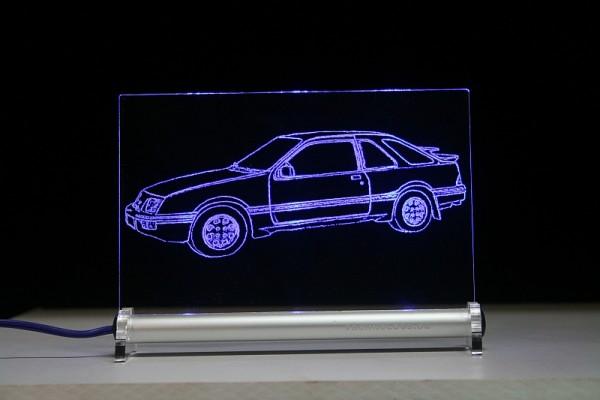Ford Sierra XR4i LED Leuchtschild