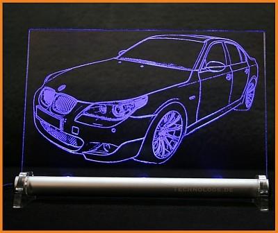 BMW 5 E60 LED Leuchtschild