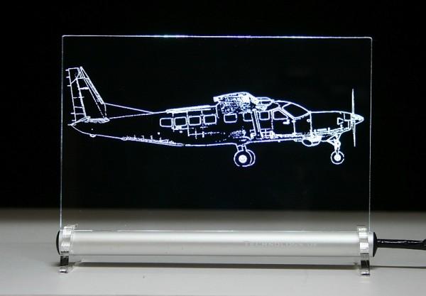 Supervan 900 Cessna Caravan LED Leuchtschild