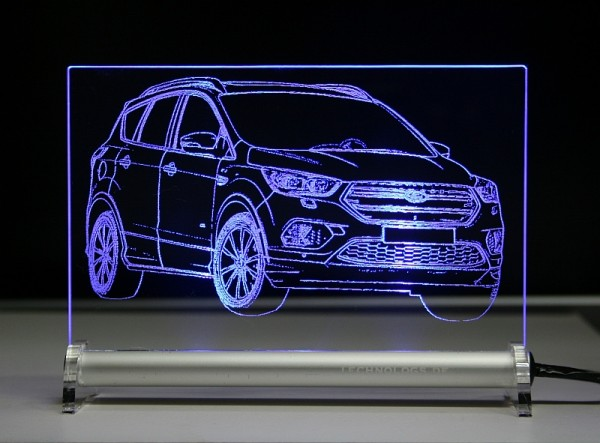 Ford Kuga Facelift 2017 LED Leuchtschild