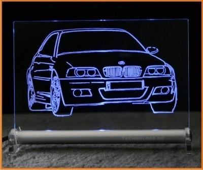 BMW 3 e46 LED Leuchtschild