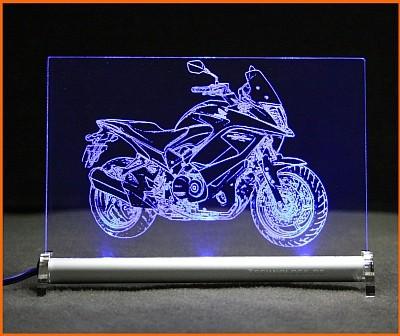 Honda Crossrunner LED Leuchtschild