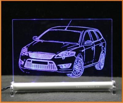 Ford Mondeo Turnier LED Leuchtschild