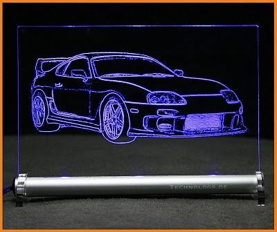 Toyota Supra MK IV LED Leuchtschild