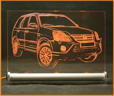 Honda CR-V LED Leuchtschild