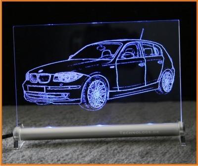 BMW 1 E87 LED Leuchtschild