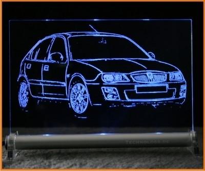 Rover 25 LED Leuchtschild