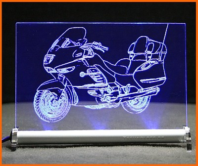 BMW K 1200 LT LED Leuchtschild
