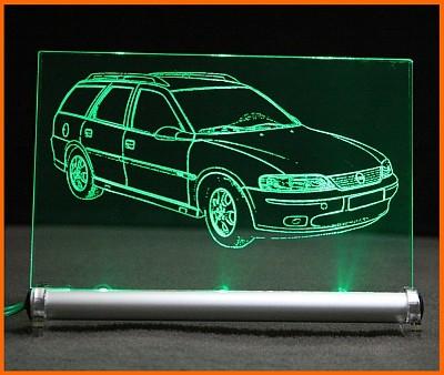Opel Vectra B Caravan LED Leuchtschild