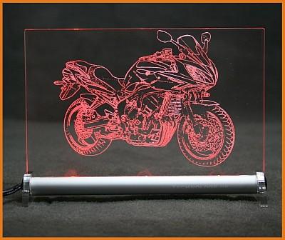 Yamaha Fazer 2009 LED Leuchtschild
