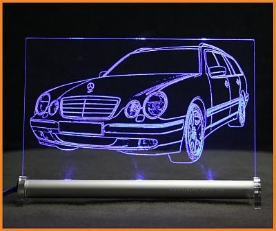 Mercedes W210 E-Klasse T LED Leuchtschild