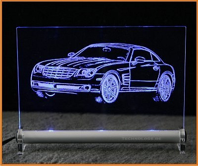 Chrysler Crossfire front LED Leuchtschild