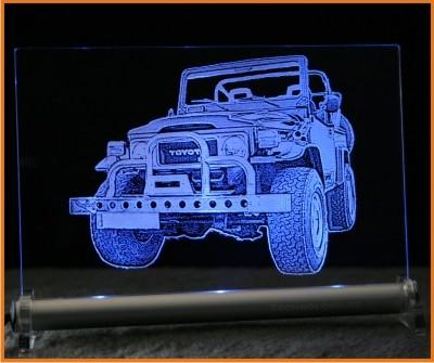 Toyota CJ LED Leuchtschild