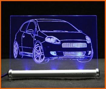 Fiat Grande Punto LED Leuchtschild