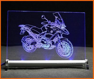BMW R 1200 GS Adventure 2010 LED Leuchtschild