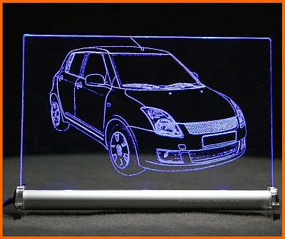 Suzuki Swift MZ EZ LED Leuchtschild
