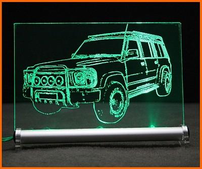 Nissan Patrol GR LED Leuchtschild