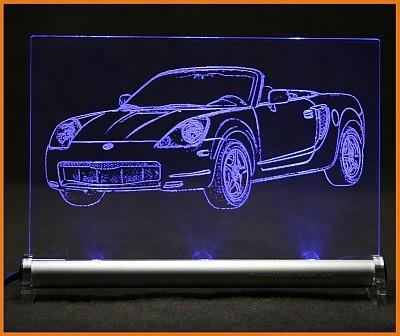 Toyota MR2 W3 LED Leuchtschild