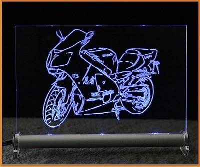 Kawasaki ZX 12 R LED Leuchtschild