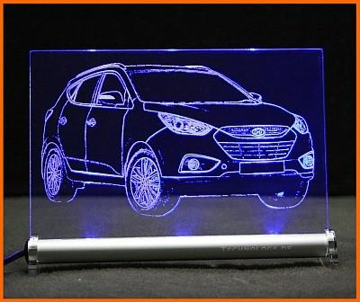 Hyundai IX35 LED Leuchtschild