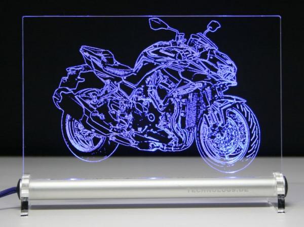 Kawasaki Z H2 LED Leuchtschild