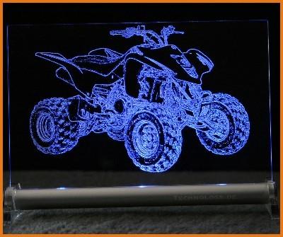 Suzuki Quad LED Leuchtschild