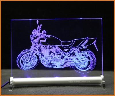 Kawasaki Zephyr LED Leuchtschild