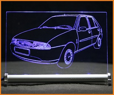 Ford Fiesta JAS 4t LED Leuchtschild