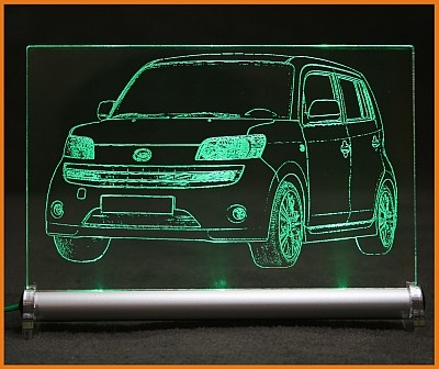 Daihatsu Materia LED Leuchtschild
