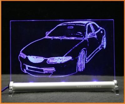 Mazda Xedos LED Leuchtschild