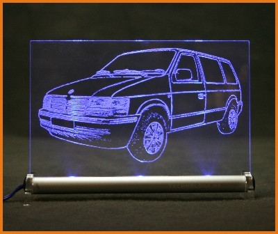 Chrysler Voyager II ES LED Leuchtschild