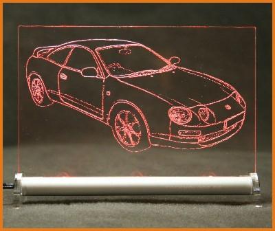 Toyota Celica T20 LED Leuchtschild