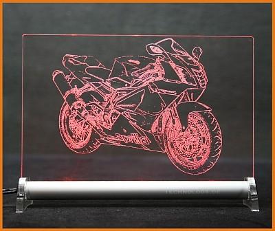 Aprilia RSV 1000 R LED Leuchtschild