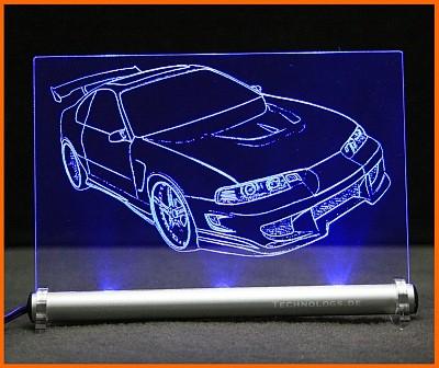 Honda Prelude LED Leuchtschild