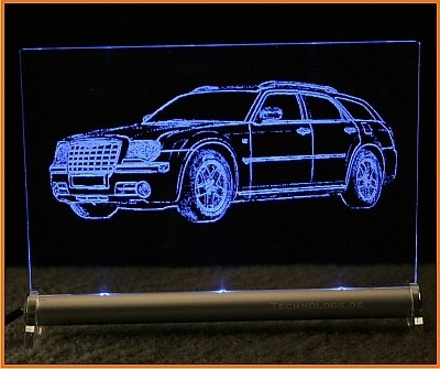 Chrysler 300C Touring LED Leuchtschild