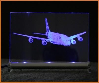 Airbus A380 LED Leuchtschild